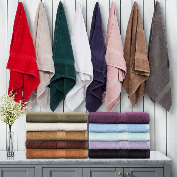 6 Piece 100% Cotton Towel Set by Laurel Foundry Modern Farmhouse